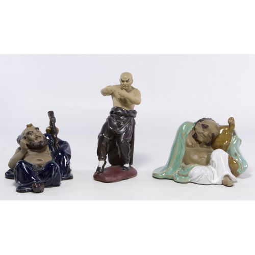 Asian Mud Man Figurine Assortment
