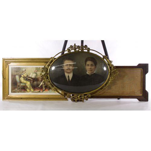 Victorian Framed Art Assortment