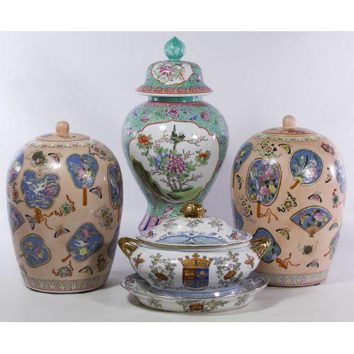 Asian Ceramic Jar Assortment