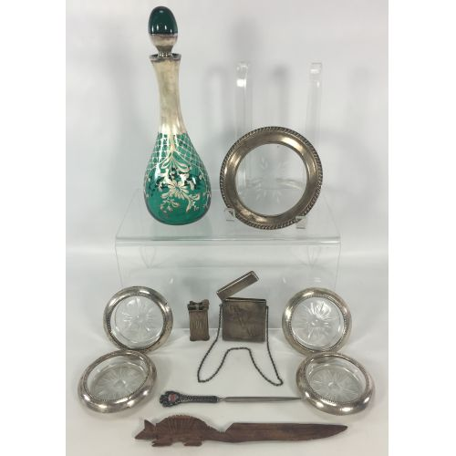 Sterling Silver Object Assortment