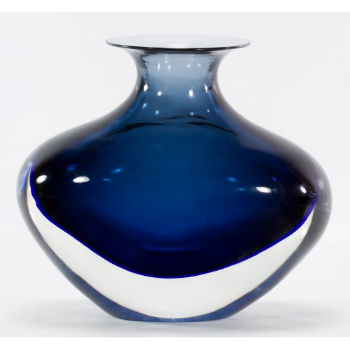 Murano Art Glass Vase by Angelo Seguso