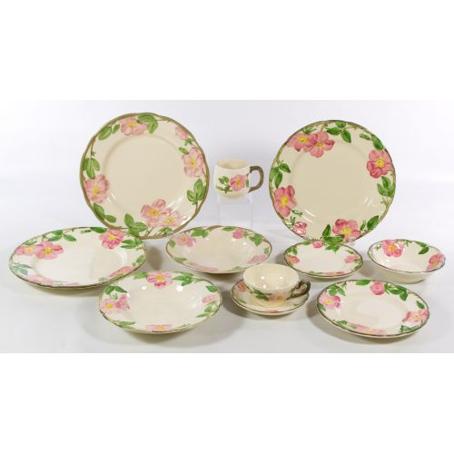 Franciscan  Desert Rose  China Service  sc 1 st  Leonard Auction & Lot 445: Franciscan