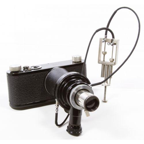Leitz Wetzlar Microscope Camera and Case