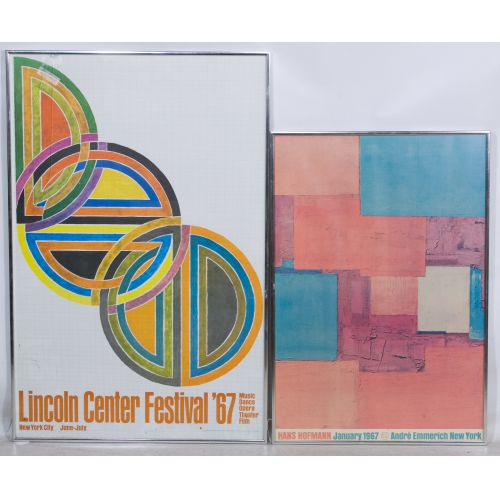 Lincoln Center and Hans Hofmann Posters