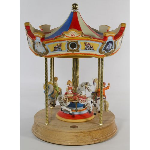 Precious Art #9910 Carousel Music Box