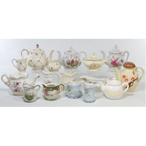 Porcelain Teapot Assortment
