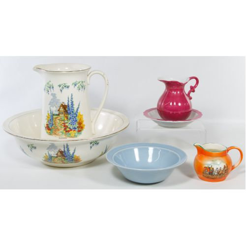 Bowl and Pitcher Assortment