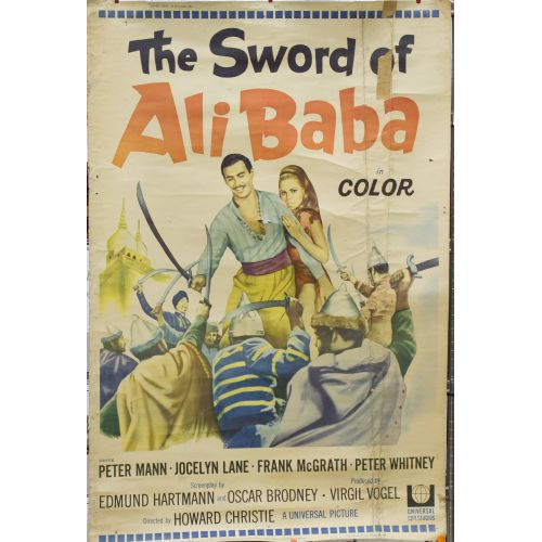 The Sword Of Ali Baba Movie Poster