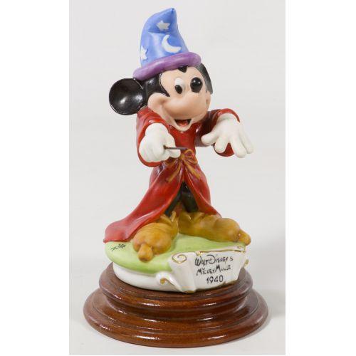 """Laurenz Capodimonte """"Disney Mickey Mouse 1940"""" Enzo Arzenton Figurine"""