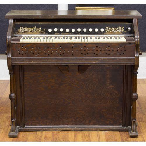 Oak Organ by Newman Bros.