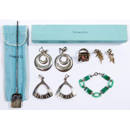 Lot 144: Tiffany & Co Sterling Silver Mint Julep Straw