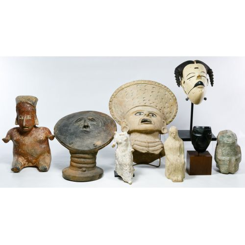 Primitive Figurine and Mask Assortment