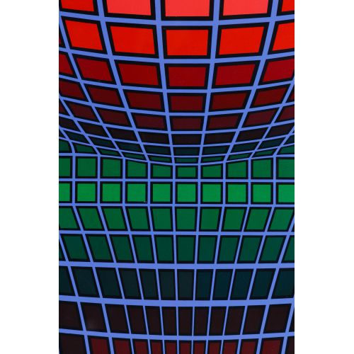 Victor Vasarely (French, 1906-1997) Lithograph