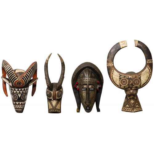 African Animal Mask Assortment