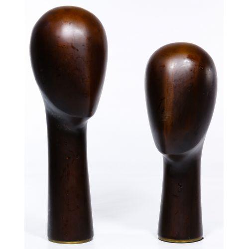 Franz Hagenauer Style Head Sculptures