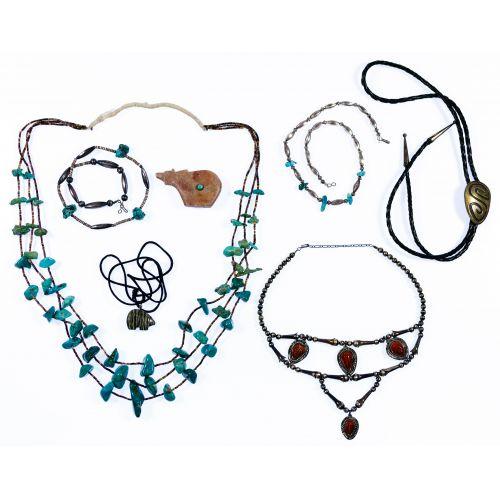 Native American Navajo Necklace Assortment
