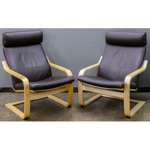 """MCM Style """"Poang"""" Chairs by Noboru Nakamura for IKEA"""