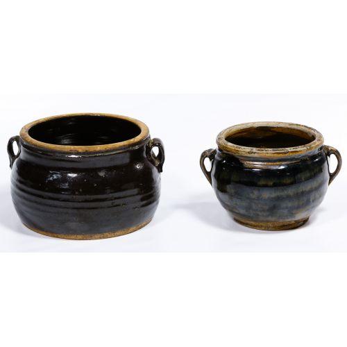 Chinese Oil Spot Double Ear Pots