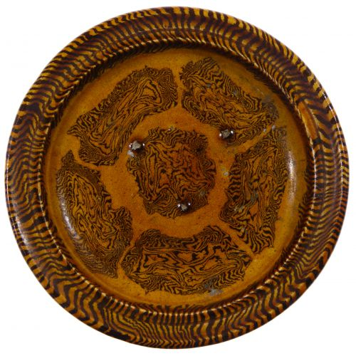 Chinese Mixed Clay Plate