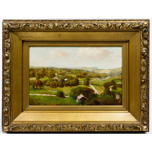 Henry Hulsmann (American, 1849-1930) Oil on Canvas