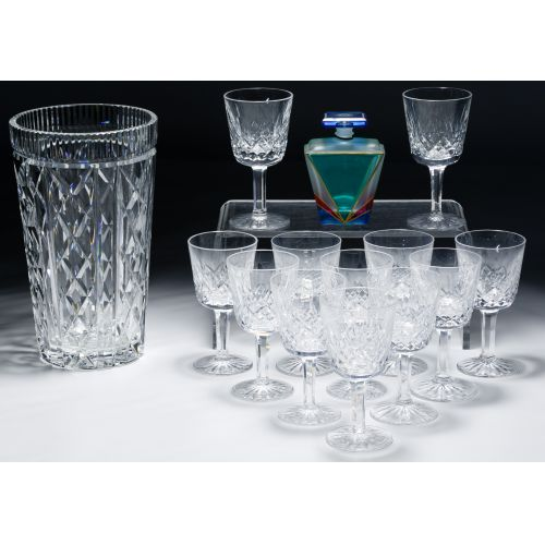 Waterford Crystal and Art Glass Assortment