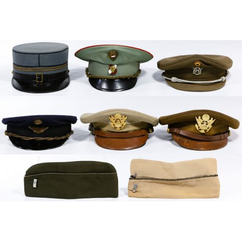 Military Hat Assortment