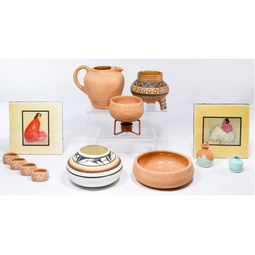 Chaparral Terra Cotta Pottery Assortment