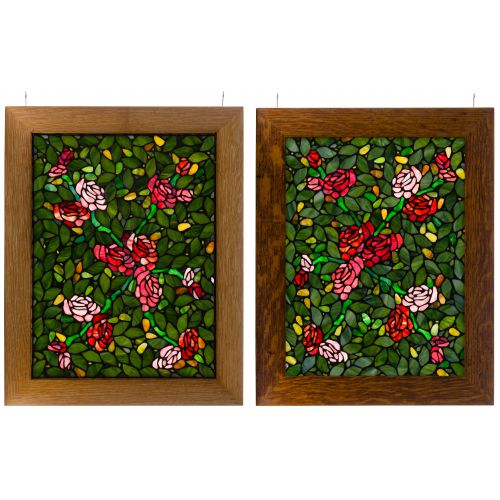 Floral Stained Glass Windows