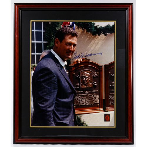 Ted Williams, Baseball Hall of Fame Autographed Photograph