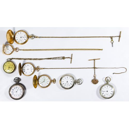 Gold Filled Pocket Watch Assortment