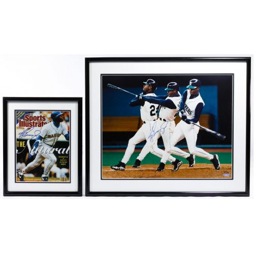 Ken Griffey, Jr. Autographed Photograph and Cover