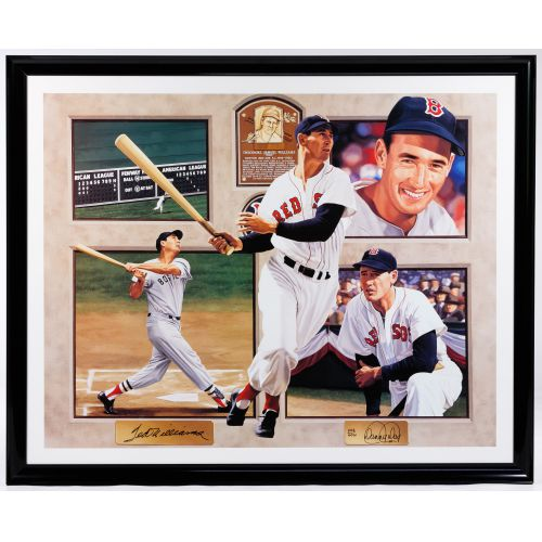 """Ted Williams"" Serigraph by Danny Day"