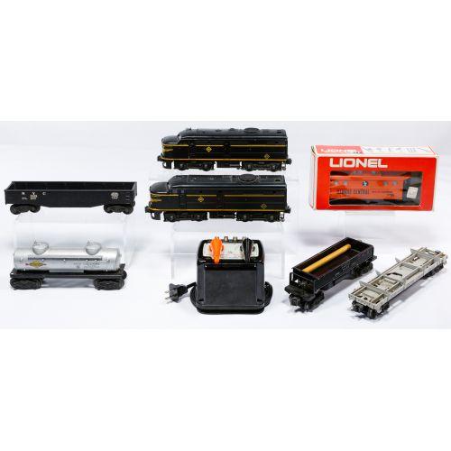 Lionel O27 Gauge Model Train Assortment
