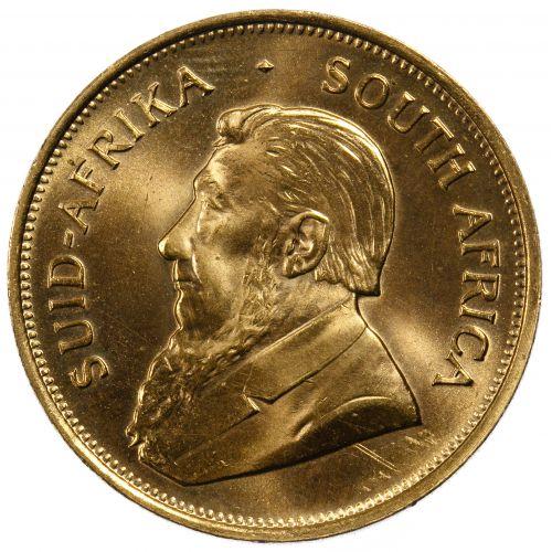 South Africa: 1975 Krugerrand 1oz. Gold Unc.