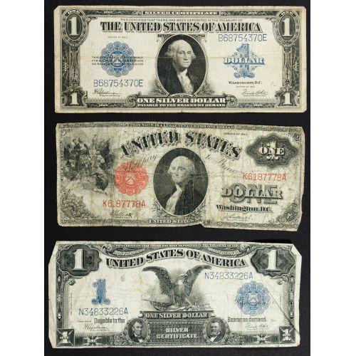 "1899 $1 ""Black Eagle"" Silver Certificate"
