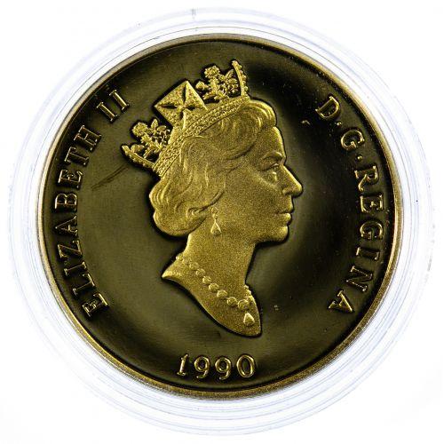 Canada: 1990 $100 Gold Unc.