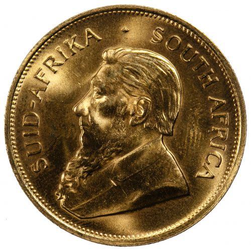 South Africa: 1981 Krugerrand 1oz. Gold Unc.