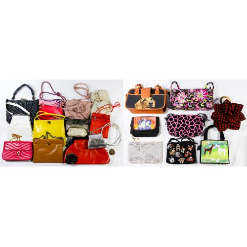 Leather Purse, Clutch, Printed and Change Purse Assortment