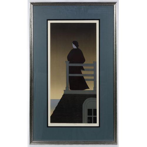 "Will Barnet (American, 1918-1992) ""Dawn"" Lithograph"