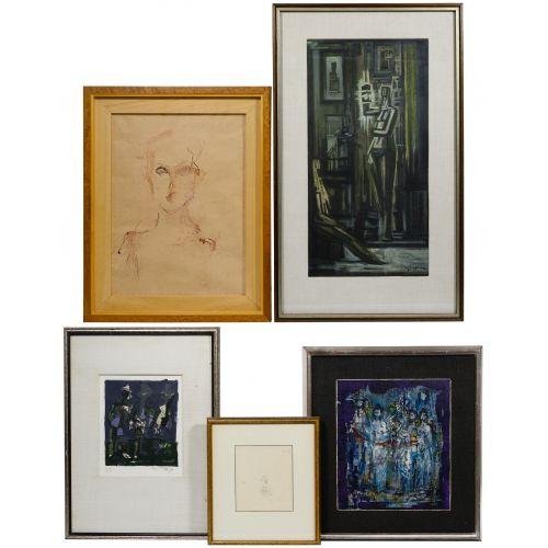 Abstract Artwork Assortment