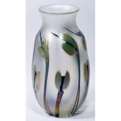 Charles Lotton Art Glass Vase