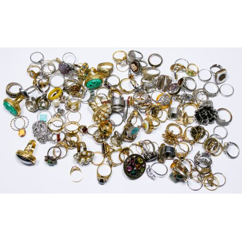 Costume Jewelry Ring Assortment