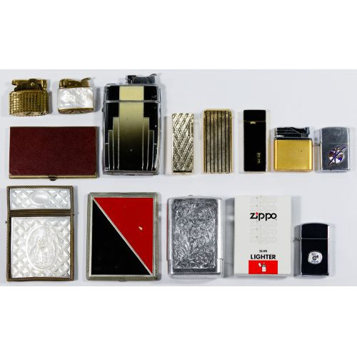 Lighter and Cigarette Case Assortment