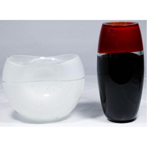 Murano Art Glass Vases by Barbini