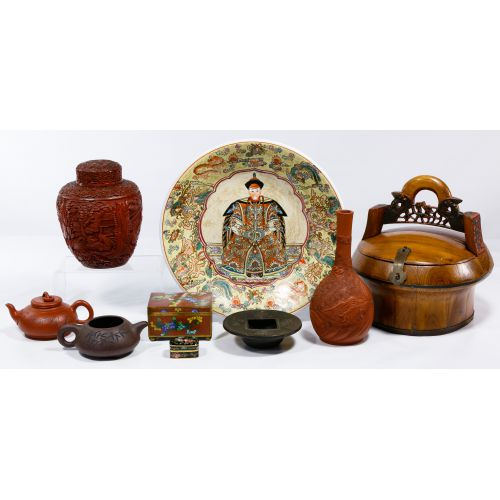 Chinese Decorative Item Assortment