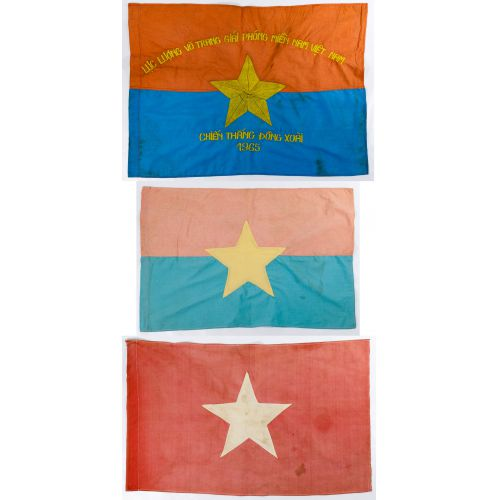 Vietnam War Flag Assortment