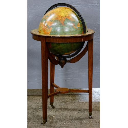 Floor Globe by W & A.K. Johnston