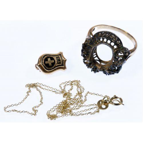14k Gold Jewelry Assortment