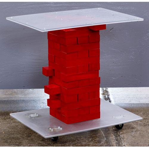 Modern Jenga Table