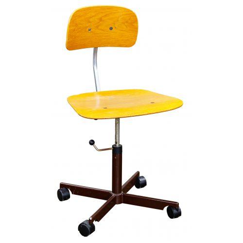 "MCM ""Kevi"" Wood Chair by Jorgen Rasmussen (Denmark)"